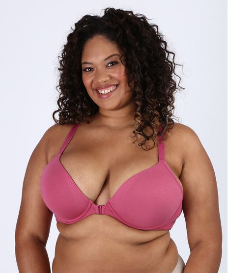 Sutia-Plus-Size-Love-Secret-em-Modal-Triangulo-Nadador-com-Bojo-Rosa-Escuro-9953196-Rosa_Escuro_1