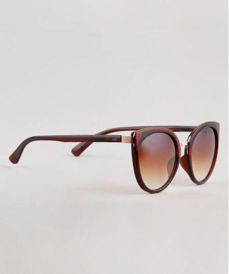 Oculos-de-Sol-Redondo-Feminino-Yessica-Marrom-9910527-Marrom_1