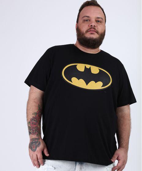 Camiseta-Masculina-Plus-Size-Batman-Manga-Curta-Gola-Careca-Preta-9953220-Preto_1