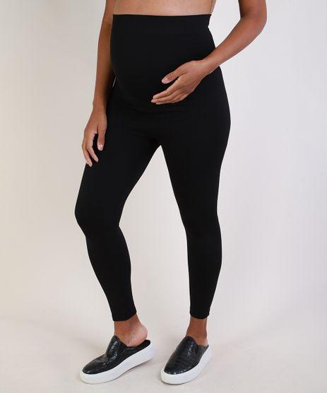 Calca-Legging-Feminina-Gestante-Esportiva-Ace-Cintura-Alta-Anatomica-Sem-Costura-Preta-9954381-Preto_1