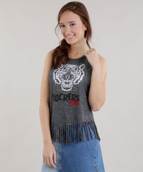 Regata--Rocker-Girls--com-Franjas-Cinza-Mescla-Escuro-8692711-Cinza_Mescla_Escuro_1