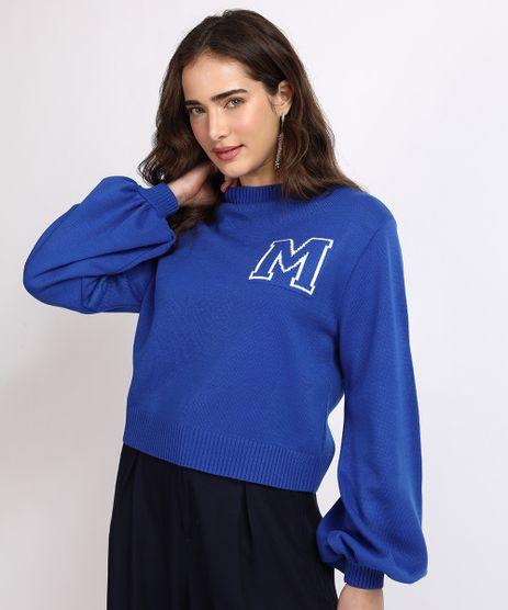 Sueter-Feminino-Mindset-em-Trico-Estampa-M-Decote-Redondo-Azul-9955880-Azul_1