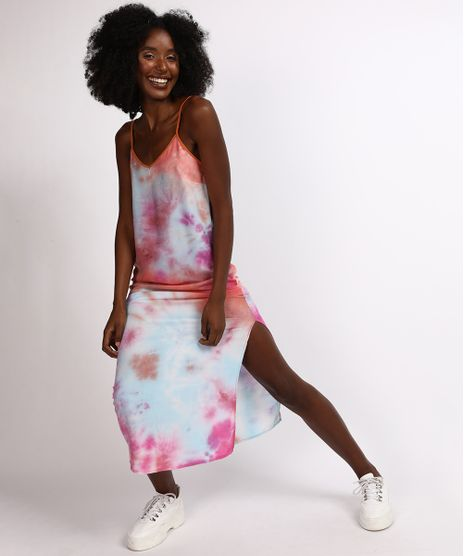 Vestido-Feminino-Mindset-Longo-Estampado-Tie-Dye-com-fenda-Alcas-Finas-Decote-V-Multicor-9955874-Multicor_1