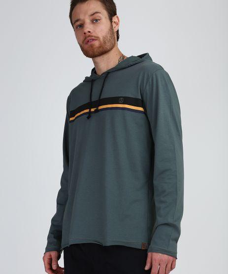 Camiseta-Masculina-com-Listras-e-Capuz-Manga-Longa-Verde-9952935-Verde_1
