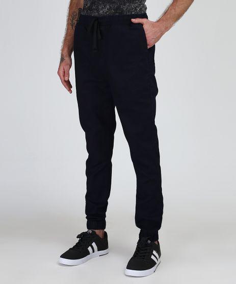 Calca-Jeans-Masculina-Jogger-Skinny-com-Bolsos-Azul-Escuro-9943097-Azul_Escuro_1