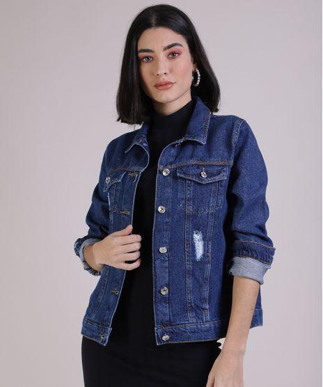 Jaqueta-Jeans-Feminina-com-Rasgos-Azul-Medio-9949443-Azul_Medio_1