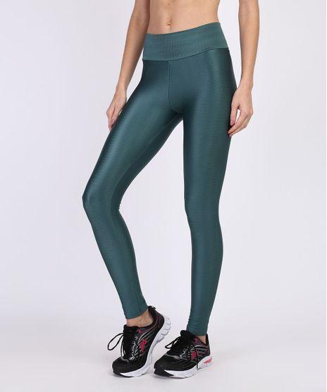 Calca-Legging-Feminina-Esportiva-Ace-Cintura-Alta-Texturizada-Verde-Escuro-9938741-Verde_Escuro_1