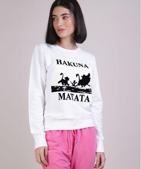 Blusao-de-Moletom-Feminino--Hakuna-Matata--O-Rei-Leao-Off-White-9950886-Off_White_1