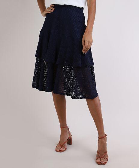 Saia-Feminina-em-Renda-com-Camadas-Azul-Marinho-9953356-Azul_Marinho_1