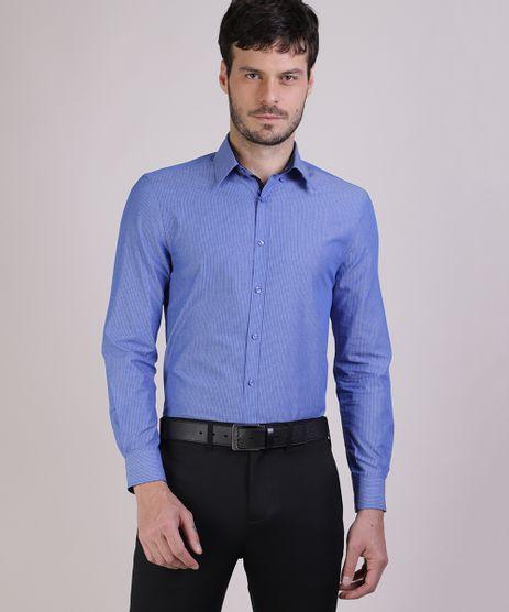 Camisa-Social-Masculina-Comfort-Listrada-Manga-Longa-Azul-9438471-Azul_1