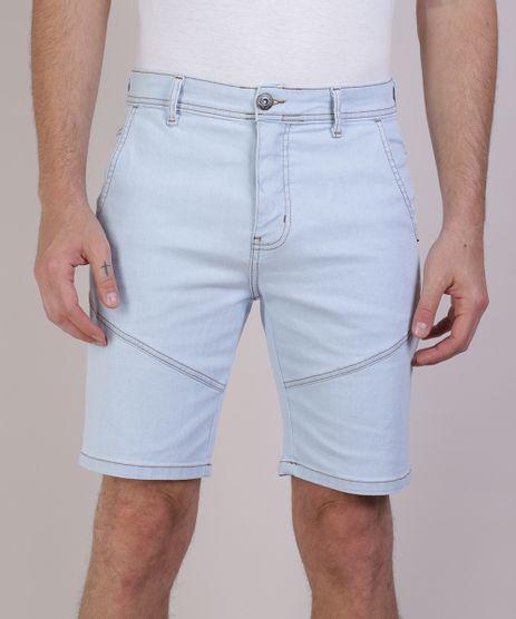 Bermuda-Jeans-Masculina-Slim-com-Recortes-Azul-Claro-9942172-Azul_Claro_1