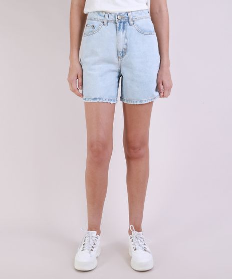 Bermuda-Jeans-Feminina-Mom-Cintura-Alta-Azul-Claro-9946463-Azul_Claro_1