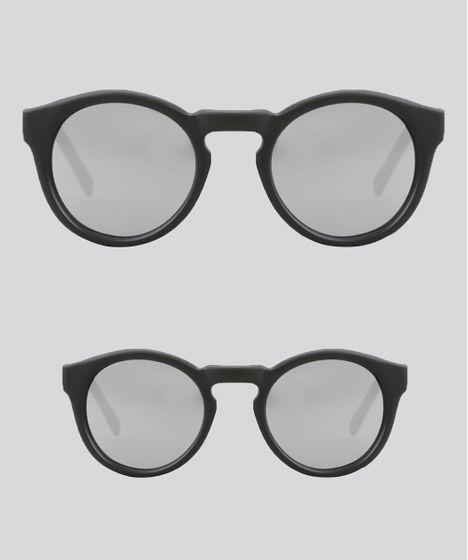 fe9c78933 Kit de Óculos de Sol Redondo Espelhado Tal Mãe Tal Filha Oneself ...