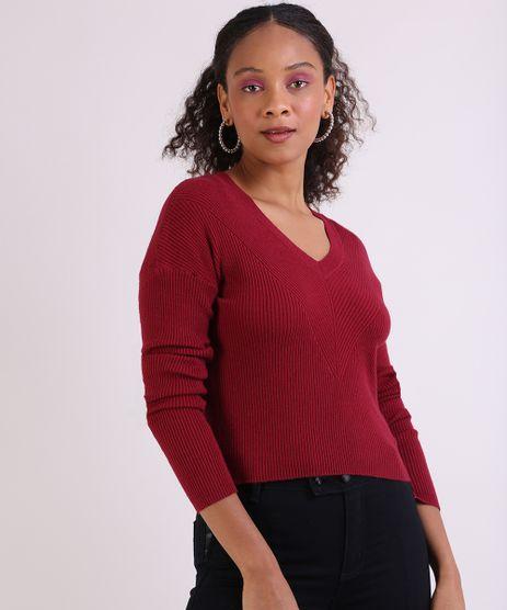 Sueter-em-Trico-Feminino-Basico-Cropped-Texturizado-Vermelho-9798091-Vermelho_1