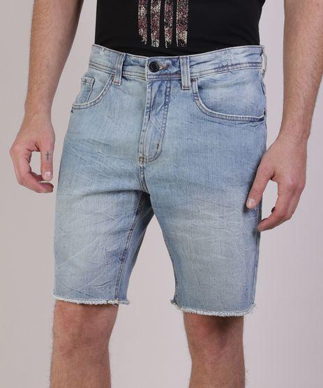 Bermuda-Jeans-Masculina-com-Barra-Desfiada-Jeans-Claro-9941827-Jeans_Claro_1