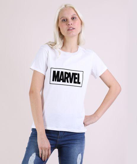 Blusa-Feminina-Marvel-Manga-Curta-Decote-Redondo-Off-White-9943576-Off_White_1
