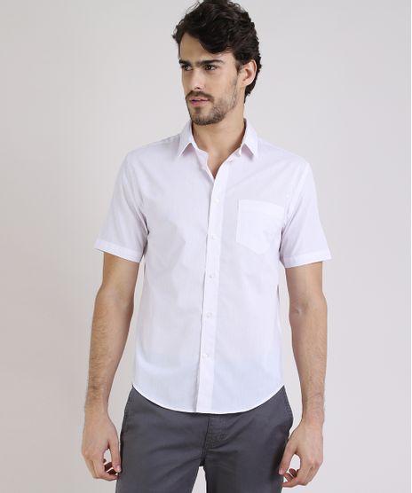 Camisa-Masculina-Comfort-Listrada-com-Bolso-Manga-Curta-Rosa-Claro-9813623-Rosa_Claro_1