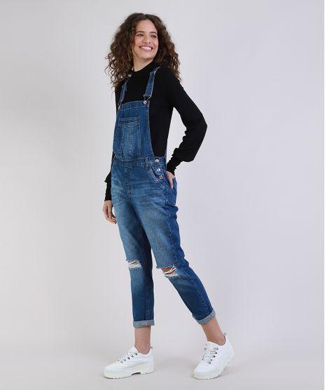 Macacao-Jeans-Feminino-Relaxed-Destroyed-Azul-Escuro-9946104-Azul_Escuro_1