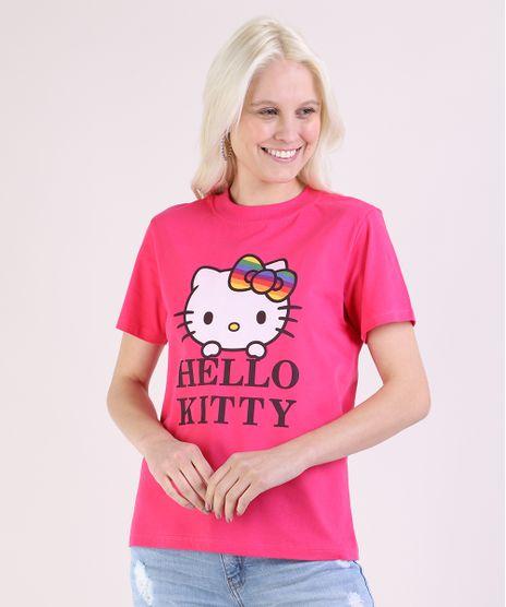 Blusa-Feminina-Pride-Hello-Kitty-Manga-Curta-Decote-Redondo-Pink-9947337-Pink_1