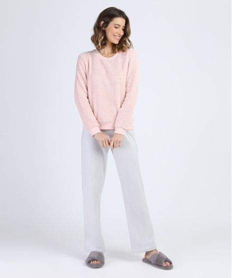 Pijama-Feminino-em-Fleece-e-Plush-Manga-Longa-Rosa-Claro-9900207-Rosa_Claro_1