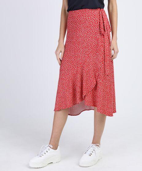 Saia-Feminina-Midi-Envelope-Estampada-com-Babado-Vermelha-9899055-Vermelho_1