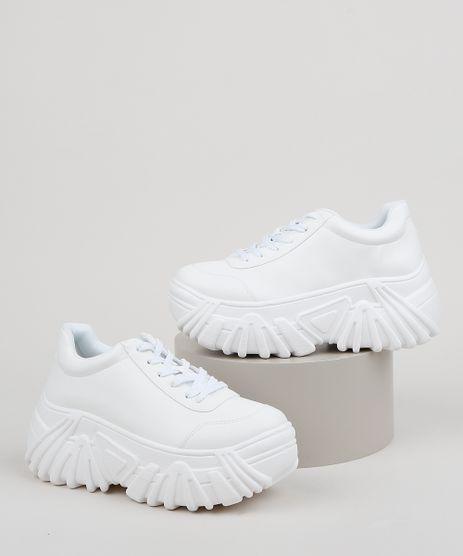 Tenis-Feminino-Oneself-Sneaker-Chunky--Branco-9955096-Branco_1