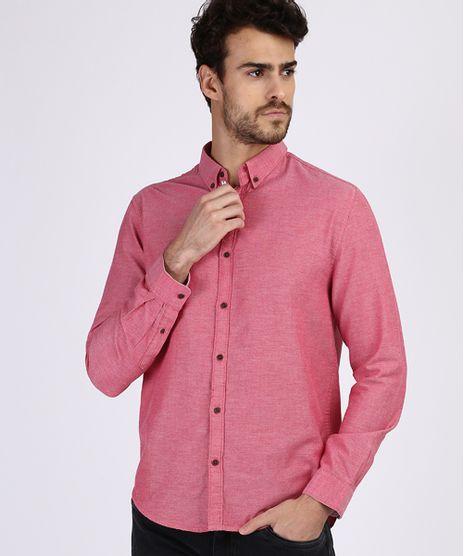 Camisa-Masculina-Comfort-Manga-Longa-Coral-9523389-Coral_1