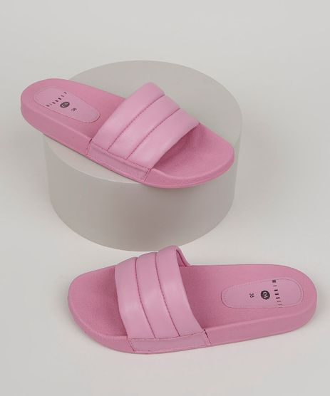 Chinelo-Slide-Mindset-Feminino-com-Tira-em-Matelasse-Rosa-9958028-Rosa_1