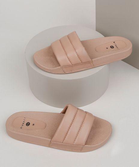 Chinelo-Slide-Mindset-Feminino-com-Tira-em-Matelasse-Bege-9958029-Bege_1