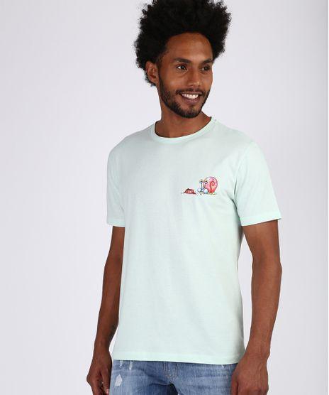 Camiseta-Masculina-Bob-Esponja-Manga-Curta-Gola-Careca-Verde-Claro-9955447-Verde_Claro_1