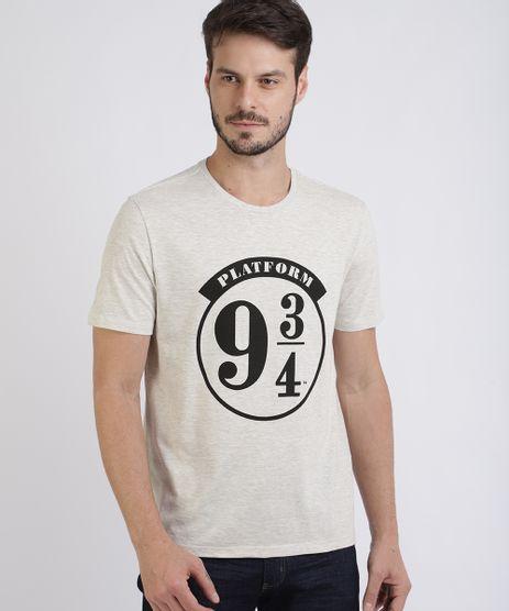 Camiseta-Masculina-Harry-Potter-Manga-Curta-Gola-Careca-Cinza-Mescla-Claro-9955588-Cinza_Mescla_Claro_1