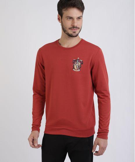 Blusao-de-Moletom-Masculino-Grifinoria--Vermelho-9956327-Vermelho_1