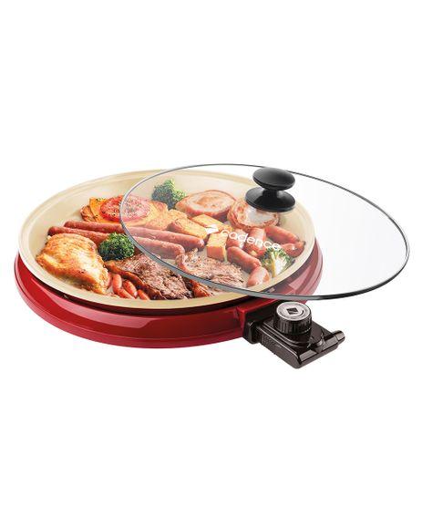 Imagem de Multi Grill Cadence Ceramic Pan Vermelho - GRL350