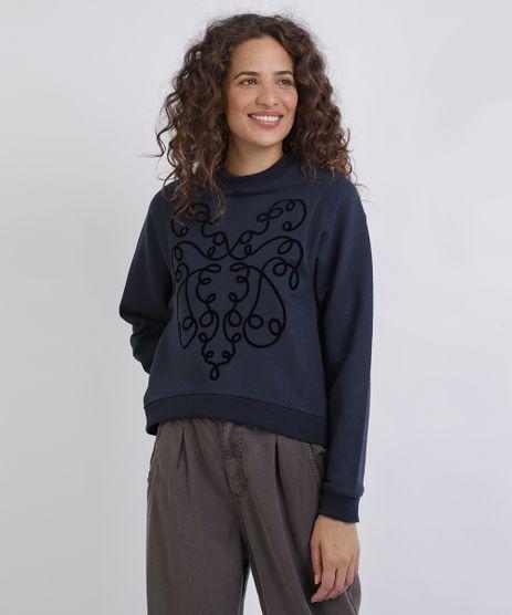 Blusao-Feminino-em-Moletom-Arabesco-Azul-Marinho-9952522-Azul_Marinho_1