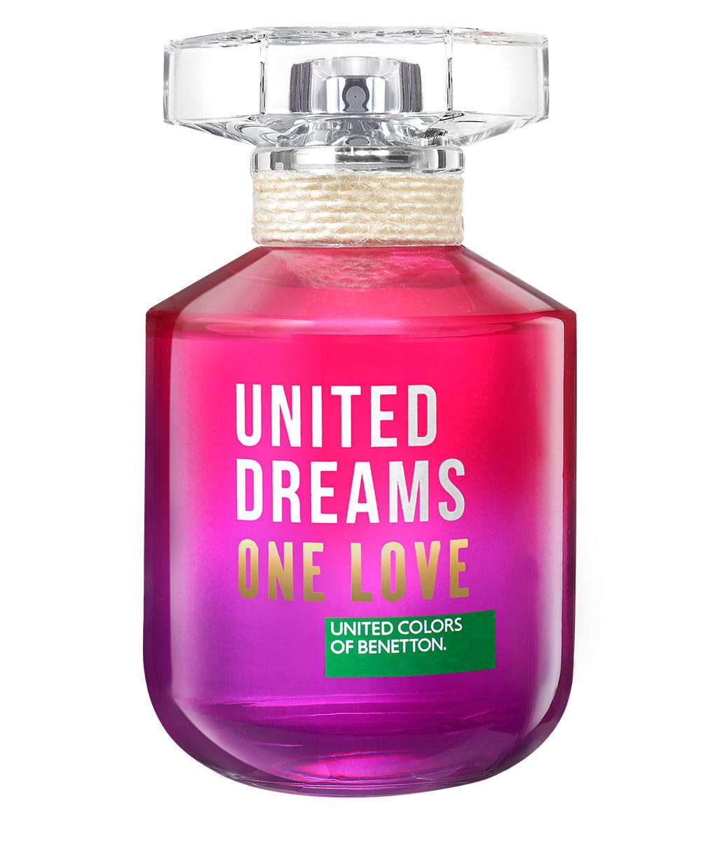 Perfume United Dreams One Love - Benetton - Eau de Toilette Benetton Feminino Eau de Toilette