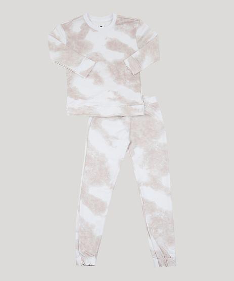 Conjunto-de-Moletom-Infantil-Mindset-Blusa-Estampada-Tie-Dye---Calca-Jogger-Bege-Claro-9954579-Bege_Claro_1