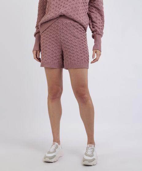 Short-Feminino-Mindset-em-Trico-Trabalhado-Cintura-Media-Rosa-9951161-Rosa_1