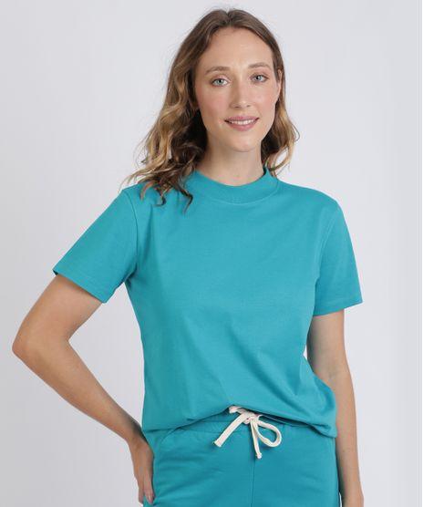 T-Shirt-Feminina-Mindset-Manga-Curta-Decote-Redondo-Azul-1-9394894-Azul_1_1
