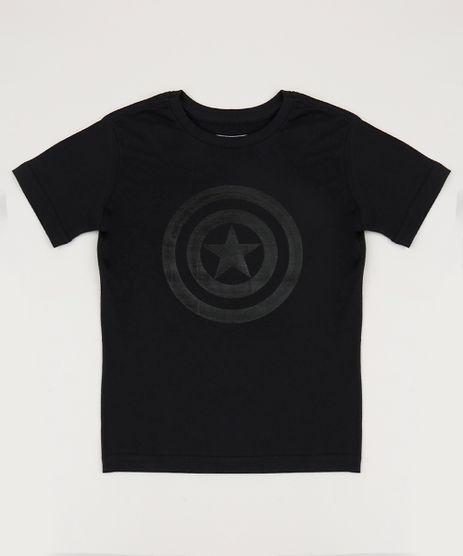 Camiseta-Infantil-Tal-Pai-Tal-Filho-Capitao-America-Manga-Curta-Gola-Careca-Preta-9953232-Preto_1