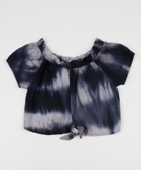 Blusa-Juvenil-Ombro-a-Ombro-Estampado-Tie-Dye-com-No-Manga-Curta-Preta-9957749-Preto_1