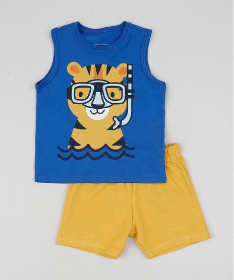 Conjunto-Infantil-de-Regata-Tigre-Azul---Bermuda-Amarelo-9952702-Amarelo_1