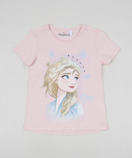 Blusa-Infantil-Elsa-com-Strass-Manga-Curta-Rosa-Claro-9954818-Rosa_Claro_1
