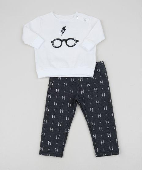 Conjunto-Infantil-em-Moletom-Harry-Potter-de-Blusao-Branco---Calca-Estampada-Cinza-Mescla-Escuro-9956074-Cinza_Mescla_Escuro_1