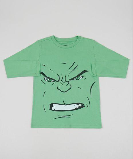 Camiseta-Infantil-Hulk-Manga-Longa-Gola-Careca-Verde-9956103-Verde_1