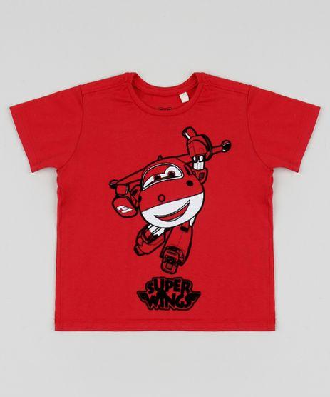 Camiseta-Infantil-Super-Wings-Manga-Curta-Gola-Careca-Vermelha-9957526-Vermelho_1