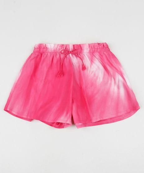 Short-Infantil-Estampado-Tie-Dye-Rosa-9957727-Rosa_1