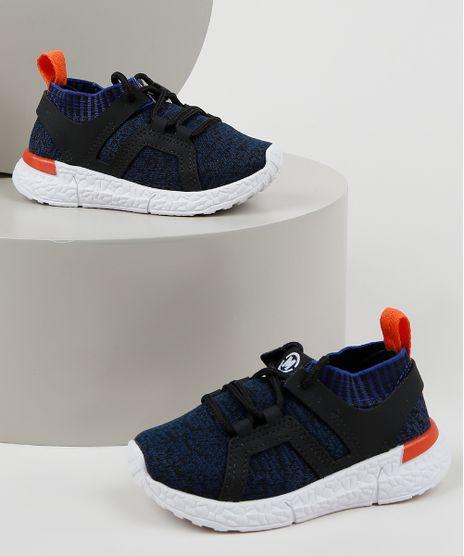 Tenis-Infantil-Molequinho-Knit-Calce-Facil-com-Cadarco-Azul-9959407-Azul_1