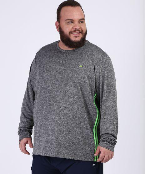 Camiseta-Masculina-Plus-Size-Ace-Esportes-Manga-Longa-Gola-Careca-Cinza-Mescla-Escuro-9958737-Cinza_Mescla_Escuro_1