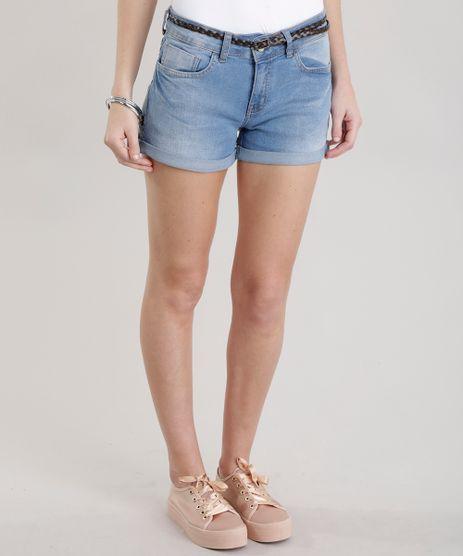 Short-Jeans-Reto-com-Cinto-Azul-Claro-8719572-Azul_Claro_1