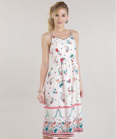 2ce9641c5 Vestido-Midi-Estampado-Floral-Rosa-Claro-8592883-Rosa_Claro_1 ...